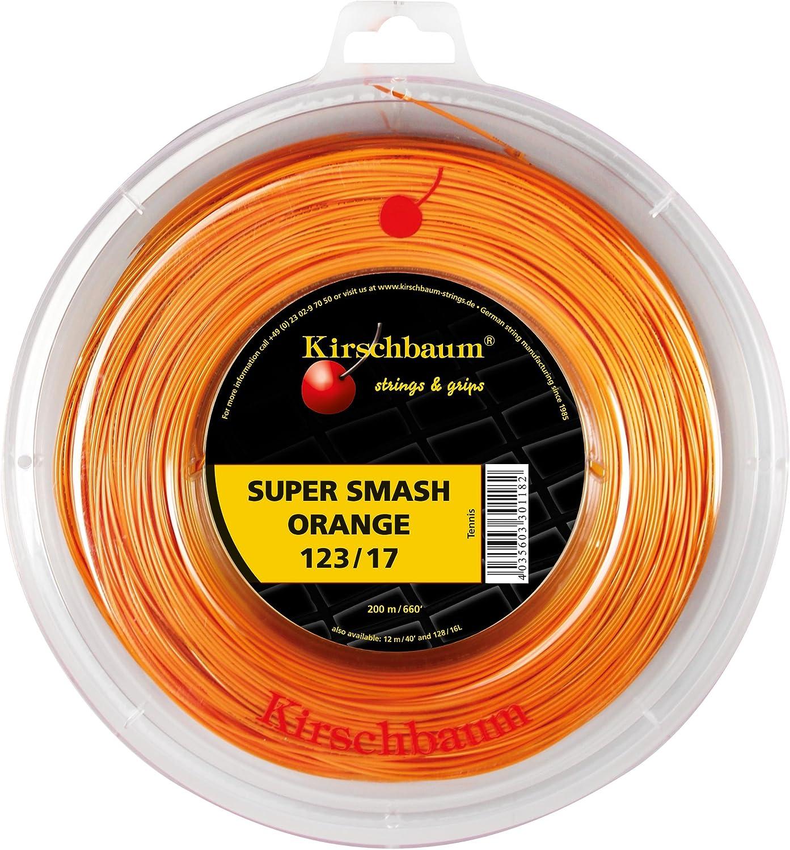 Kirschbaum Super Smash Bobine Cordage de Tennis Orange