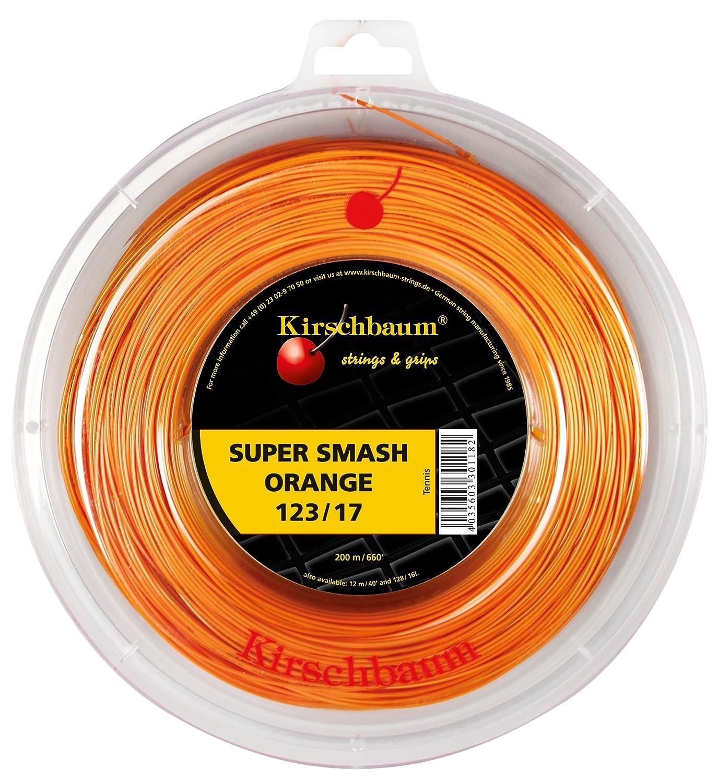 Kirschbaum Saitenrolle Super Smash, Orange, 200m, 0105210217000014 SSO128-200