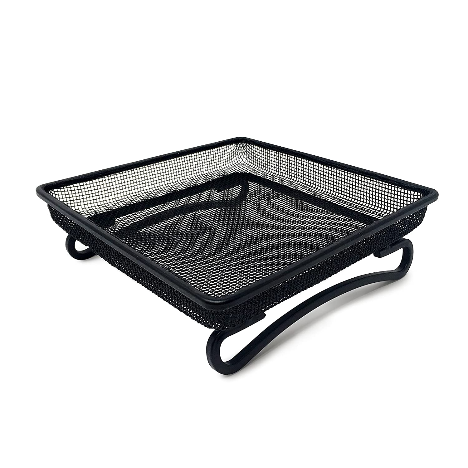 Ground Bird Feeder Tray for Feeding Birds That Feed Off The Ground | Durable and Compact Platform Bird Feeder Dish Size 7 x 7 x 2 inches