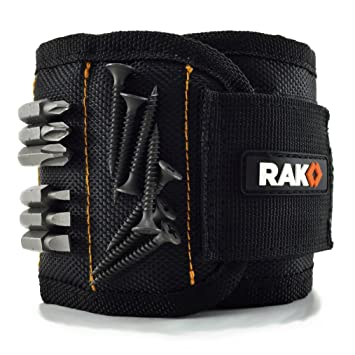 rak magnetic wristband with strong magnets for holding screws nails drill bits best