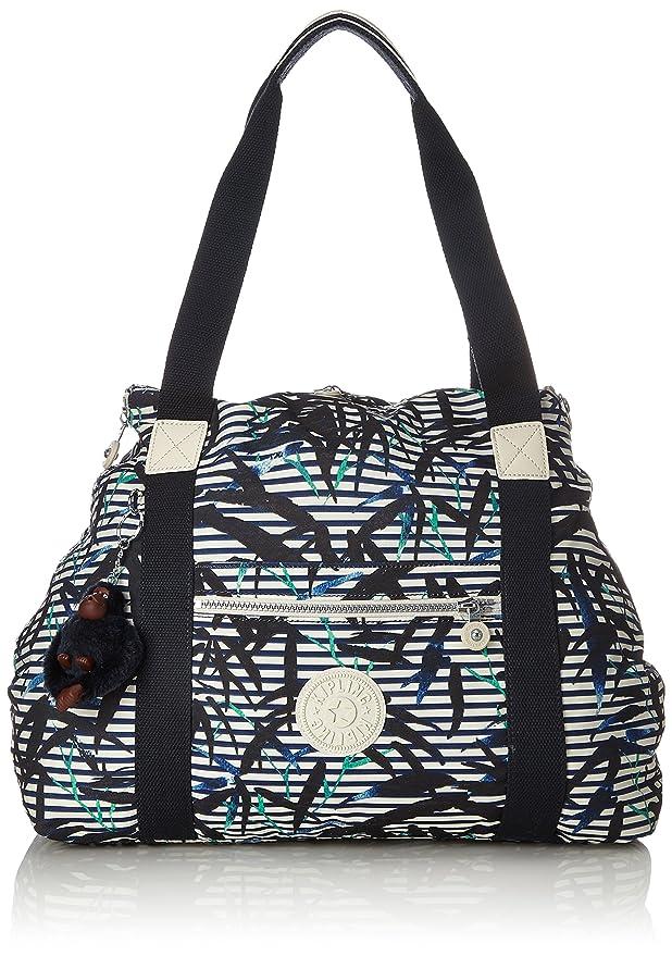 a95700bae Amazon.com | Kipling Art M, Medium Travel Tote, 58 cm, 26 liters,  Multicolour (Bamboo Stripes) | Travel Totes