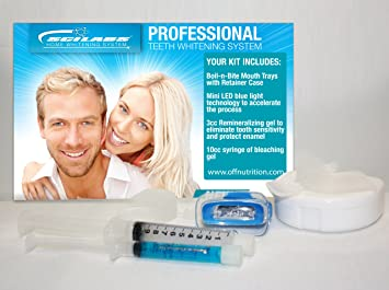 Amazon Com Deluxe At Home Teeth Whitening Kit Tooth Whitening