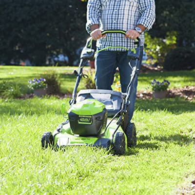 Greenworks 21-Inch 40V Brushless Self-Propelled Mower, M-210-SP