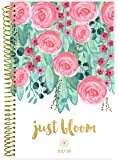"bloom daily planners 2017-18 Academic Year Daily Planner - Passion/Goal Organizer - Monthly and Weekly Datebook and Calendar - August 2017 - July 2018 - 6"" x 8.25"" - Just Bloom"