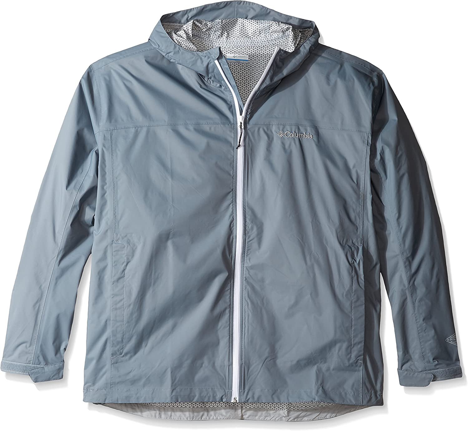 Grey Small Columbia Mens Evapouration Jacket