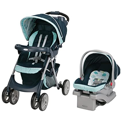 Graco Comfy Cruiser Click Connect Travel System, Stratus by Graco ...