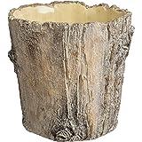 Prinz Large Potting Shed Tree Bark Planter