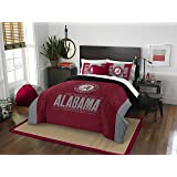 NCAA Modern Take Full/Queen Comforter and 2 Sham Set