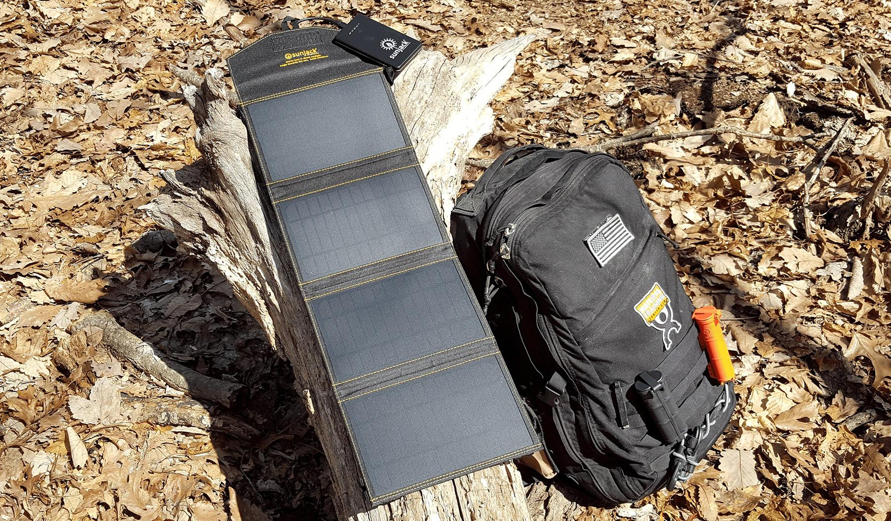 SunJack Solar Charger - Keeps My Gadgets Charged During Extended Days In The Field
