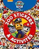 200 stickers et activités Paw patrol la pat'patrouille