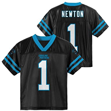 Cam Newton Carolina Panthers  1 Black Boys Home Player Jersey (X-Small 4 beb22b812