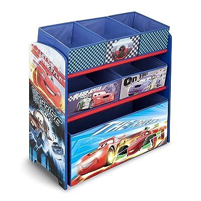 Delta Children Multi-Bin Toy Organizer, Disney/Pixar Cars: Toys & Games