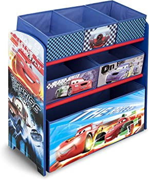 Delta Children Multi-Bin Toy Organizer Disney/Pixar Cars