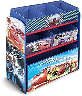 Delta Children Multi Bin Toy Organizer Disney Pixar Cars