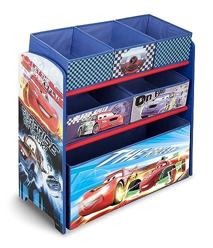 Amazon.com: Delta Children Multi Bin Toy Organizer, Disney/Pixar