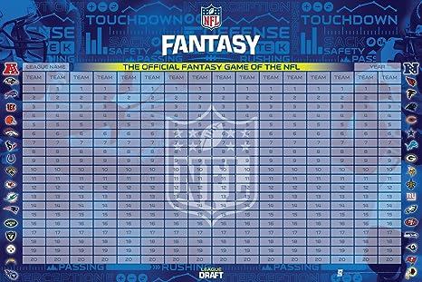 d883324b9c0 Amazon.com   NFL Officially Licensed Fantasy Football Draft Kit ...
