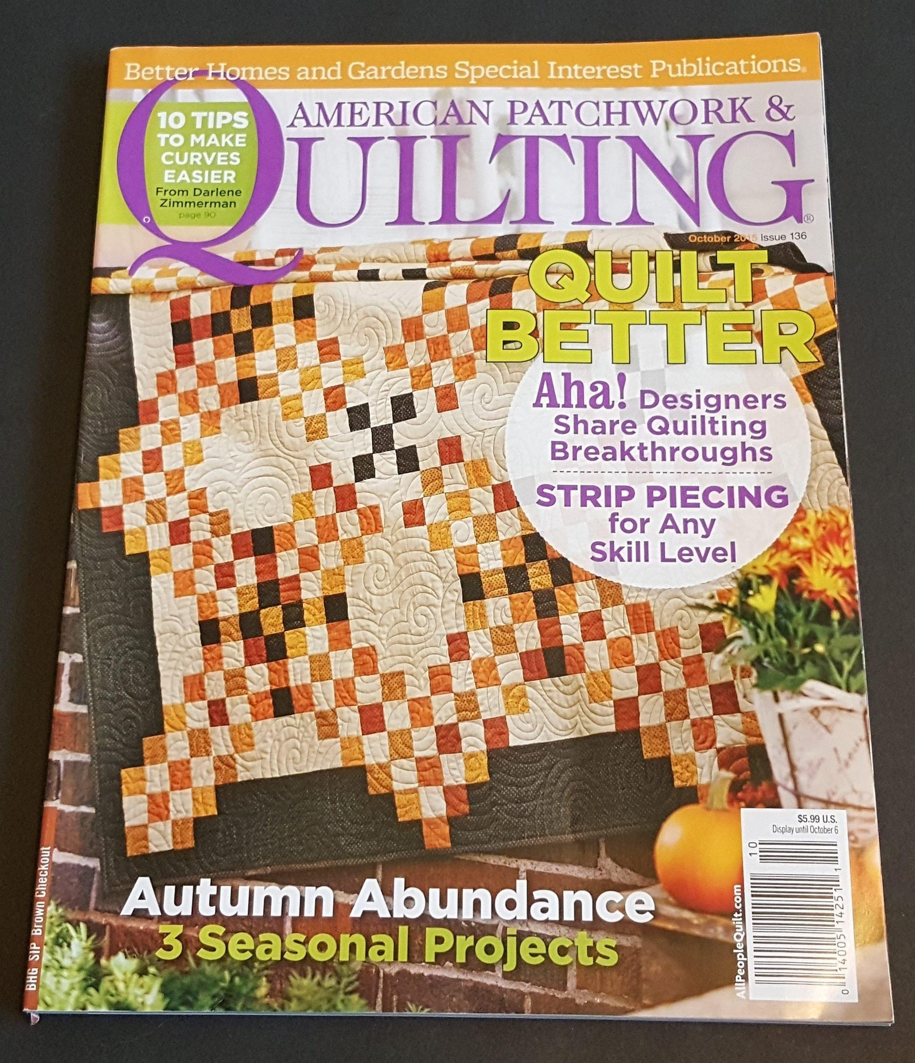 Download American Patchwork & Quilting Magazine, October 2015 ebook