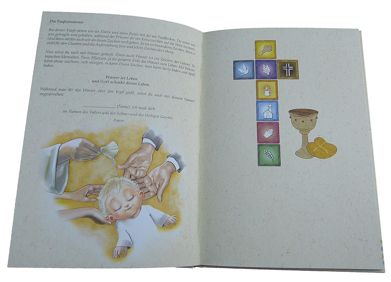 Gästebuch Zur Taufe Für Erinnerungen Anmeine Taufe Eintragbuch Für Eltern Paten Und Gäste Taufalbum Gästebuch