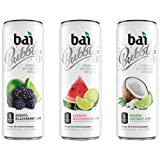 Bai Bubbles Sublime Infusions Variety Pack, Antioxidant Infused Beverage, 11.5 Ounce (Pack of 12)