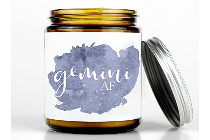 Gemini AF Candle Gift June Birthday For Her