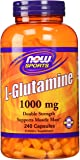 Now Foods L-Glutamine 1000 mg - 240 Caps