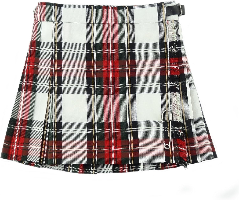 Glen Appin - Falda - falda escocesa - para niña: Amazon.es: Ropa y ...