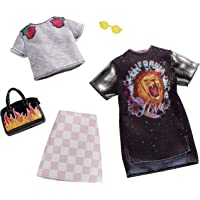 Barbie Checkered Rockband Tee Fashion Pack