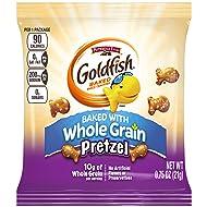 PEPPERIDGE FARM Goldfish Pretzel Snacks, 300-Count Pouches, 0.75 oz