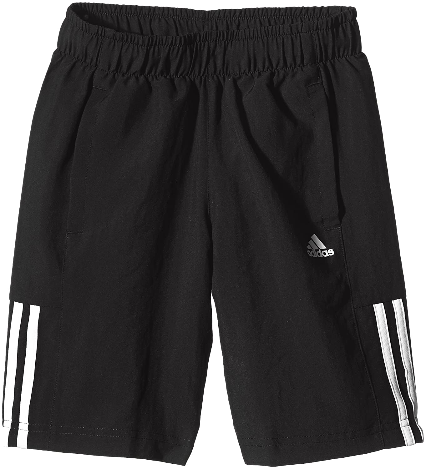 adidas Essentials 3 Stripes Boys Shorts S23285