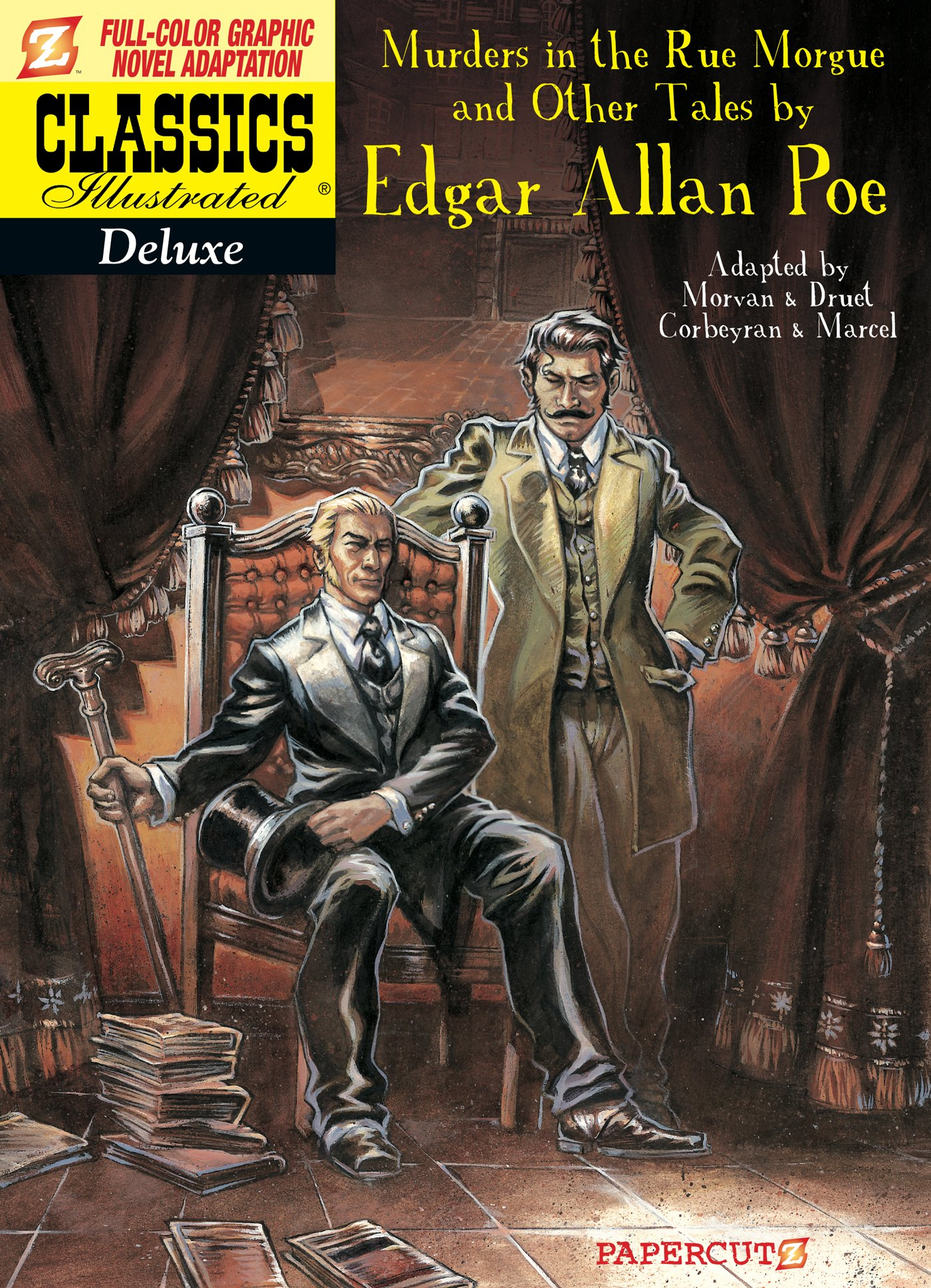 Download Classics Illustrated Deluxe #10: The Murders in the Rue Morgue, and Other Tales (Classics Illustrated Deluxe Graphic Nove) ebook