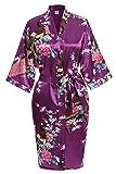 USDisc't Elegant Women's Kimono Robe for Parties