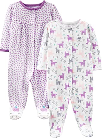 Simple Joys by Carter's Girls' Baby and Toddler Sleepers