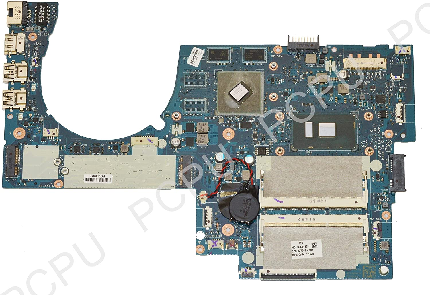 837769-601 HP M7-N109DX 17-N179NR Laptop Motherboard 940M/2GB w/ Intel i7-6500U 2.5Ghz CPU