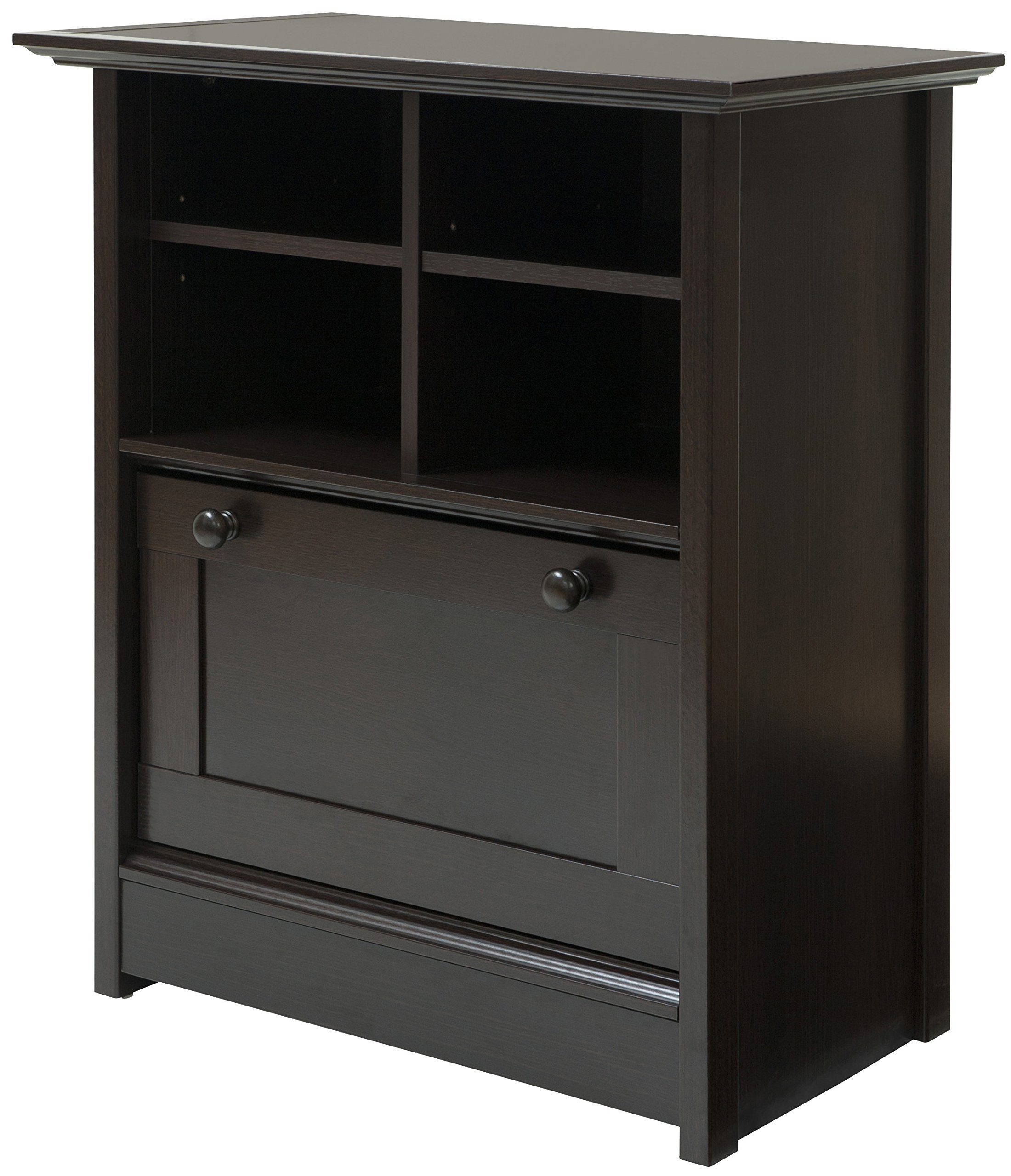 Comfort Products 60-COUB1028 Coublo Collection File Cabinet, Mocha Brown