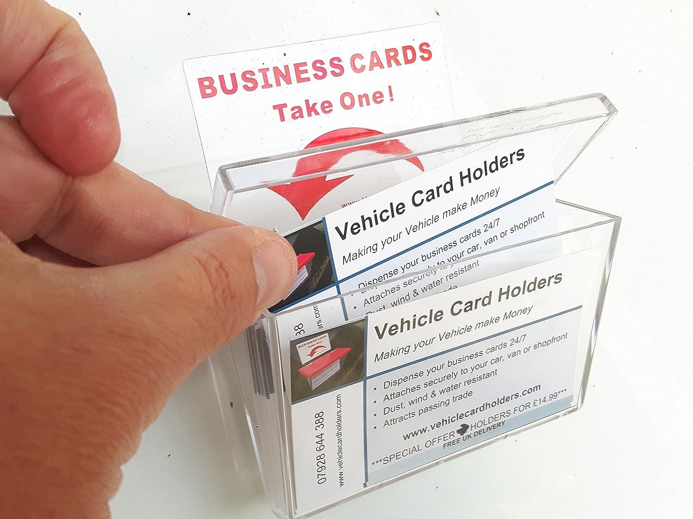 Outdoor Vehicle Business Card Holder Box: Amazon.co.uk: Clothing