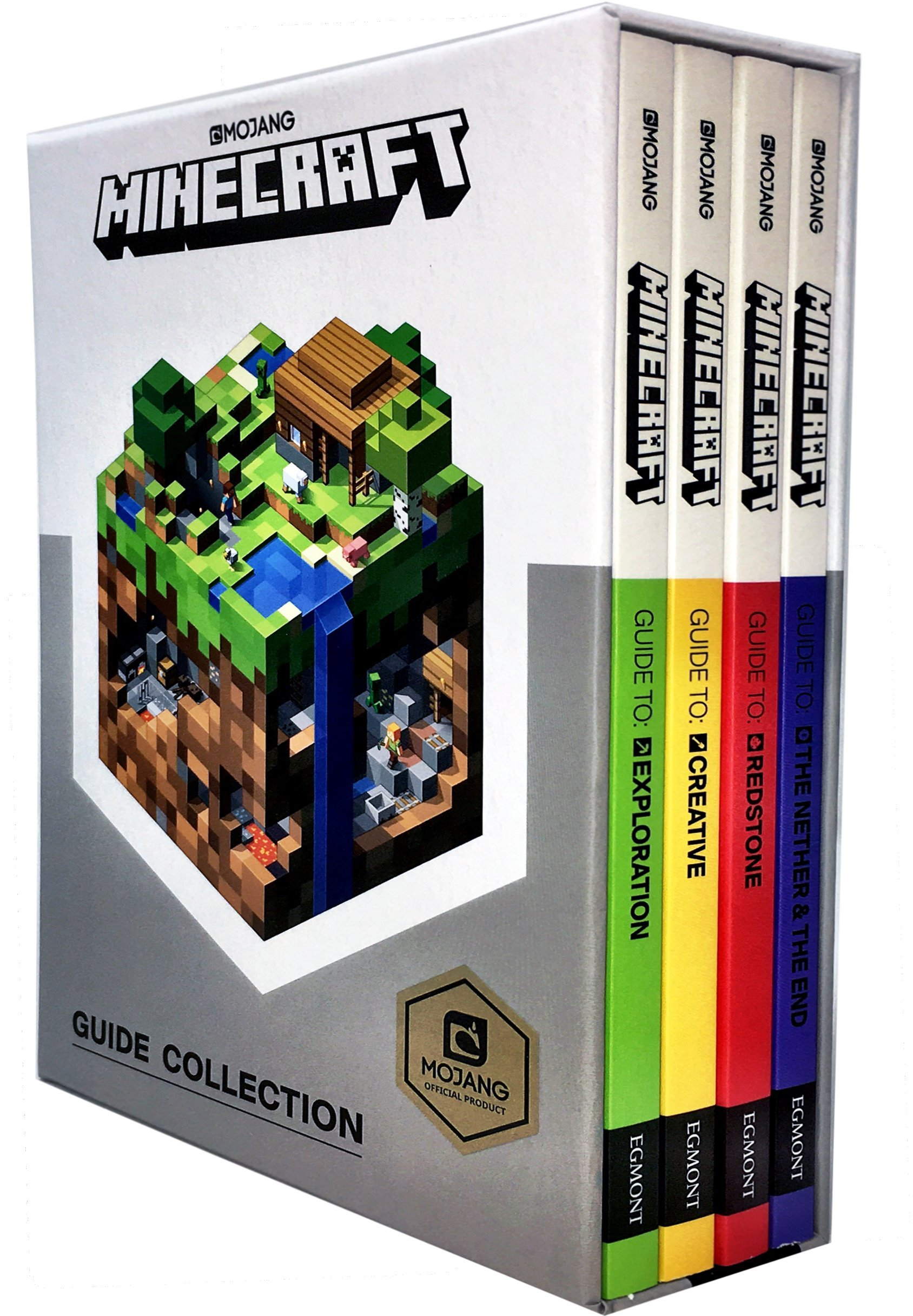 Minecraft Guide Collection 4 Books Box Set To Two Way Switch Redstone Exploration Creative The Nether And End