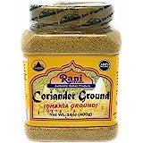 Rani Coriander Ground Powder (Indian Dhania) Spice 14oz (400g) PET Jar ~ All Natural, Salt-Free   Vegan   No Colors   Gluten