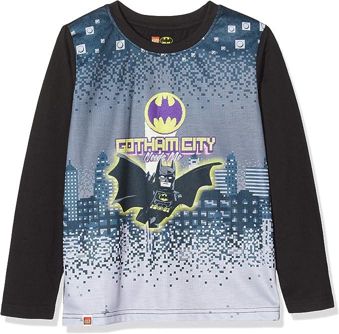 LEGO Cm Batman Camisa Manga Larga para Niños: Amazon.es: Ropa y accesorios