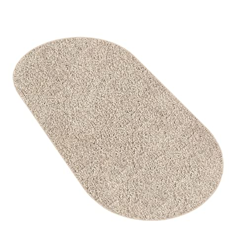 Koeckritz 3 x5 Oval Caramel Cream Area Rug Carpet.