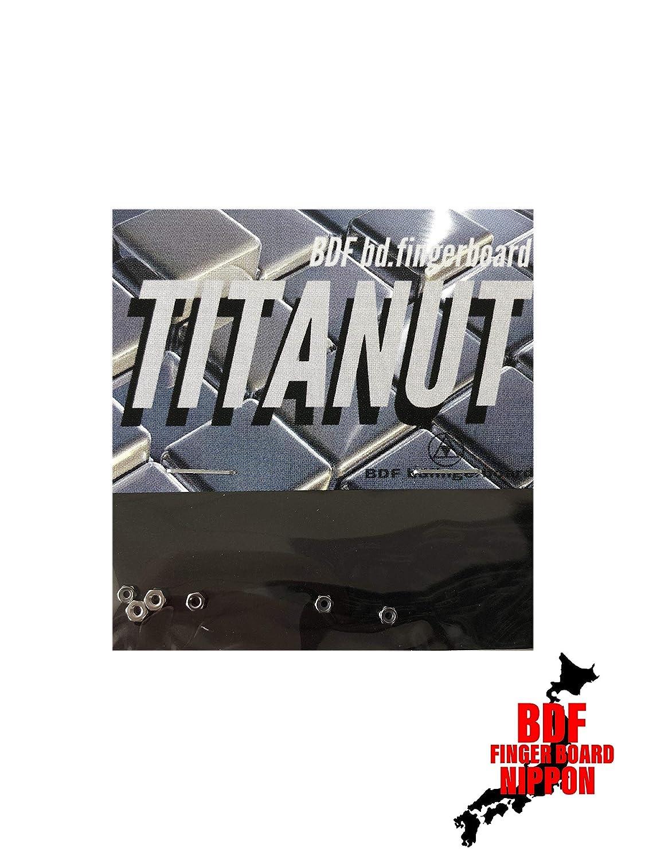 BDF bd.fingerboard TITANUT Black