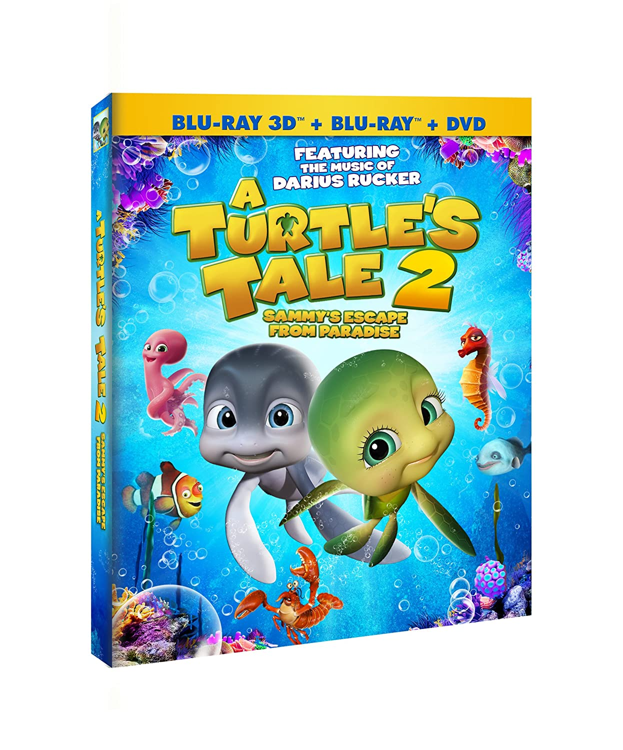 Amazon.com A Turtle's Tale 18 Sammy's Escape from Paradise DVD ...