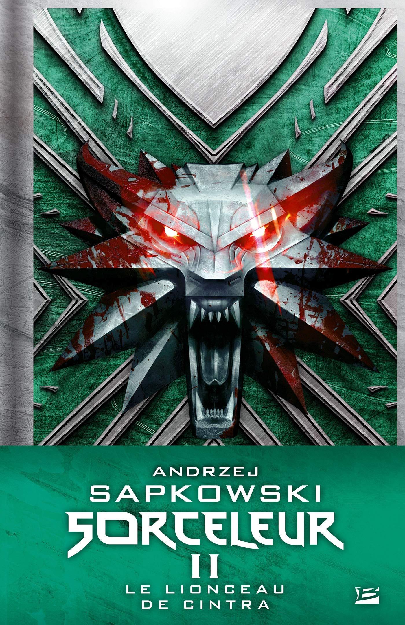 Sorceleur Collector T2 : Le Lionceau de Cintra Relié – 17 octobre 2018 Andrzej Sapkowski Bragelonne B07FDVCJBJ Fantasy