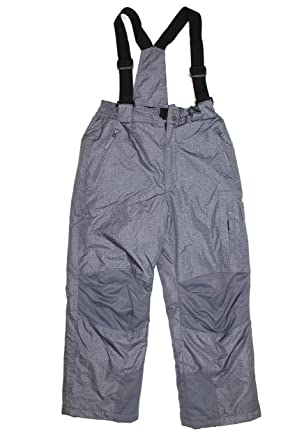 75e7cc26eb77 Amazon.com  WEATHERPROOF 32 DEGREES BOYS WINTER SNOW BIB PANT ...