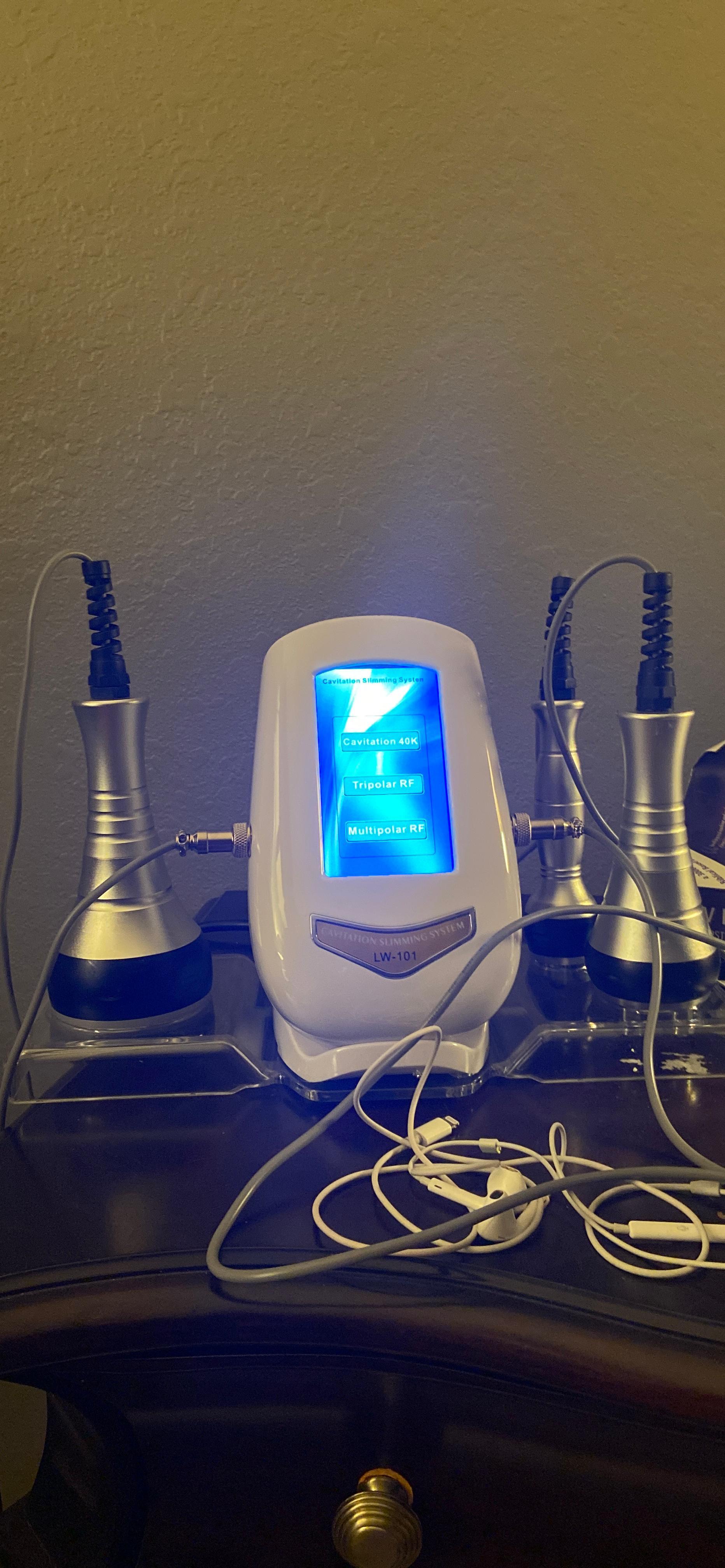 40K RF Radio Frequency Cavitation Ultrasonic Weight Loss Machine photo review