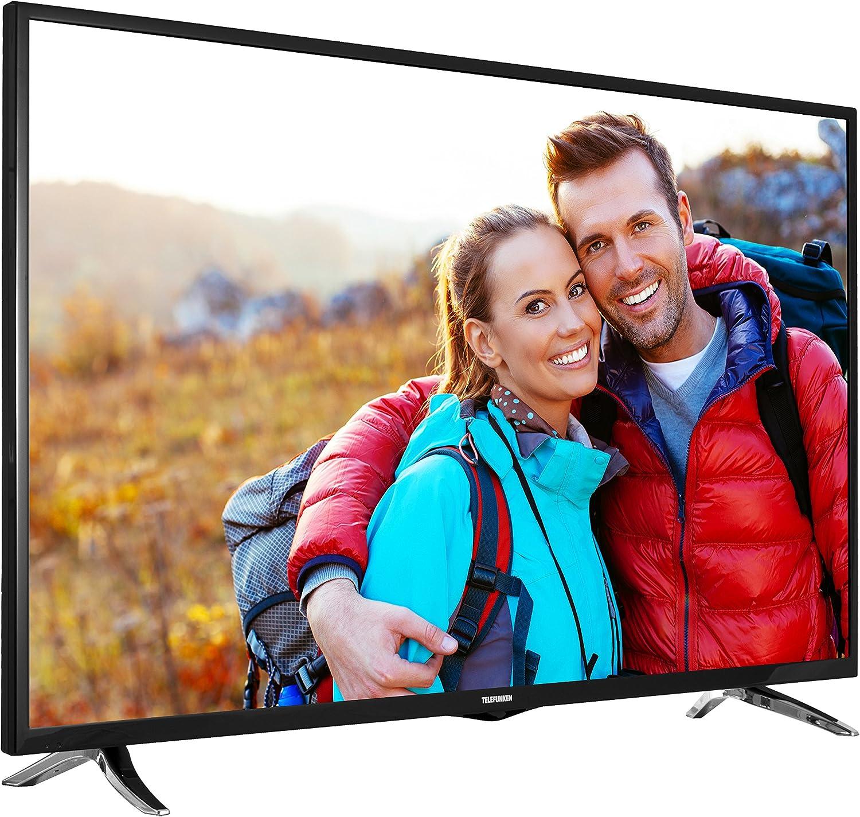 Telefunken xf48b401 122 cm (48 Pulgadas) de televisor (Full HD, sintonizador Triple, DVB-T2 H.265/hevc, Smart TV, Netflix): Amazon.es: Electrónica