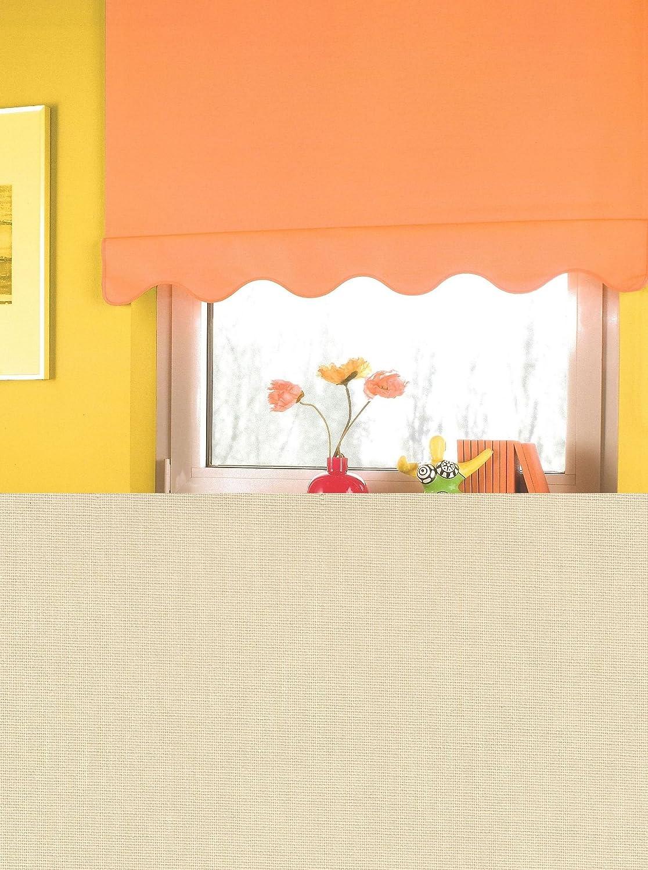 Springrollo Mittelzugrollo Schnapprollo mit Volant gewellt Fenster Stoff Stoff Stoff Rollo Creme Beige Breite 60-240 cm Länge 180 cm Blickdicht Lichtdurchlässig Sonnenschutz Sichtschutz Kordel und Quaste Markisen Vorhang (130 x 180 cm) B01N1MMPUN Seitenzug- afbe81