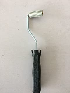20 x 50 mm fibra de vidrio para plastificar rodillo rodillo de burbujas para resina negro mango plastificado Paddle para…