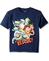 Disney Boys' Little Boys' Toy Story Action Heroes Short Sleeve T-Shirt