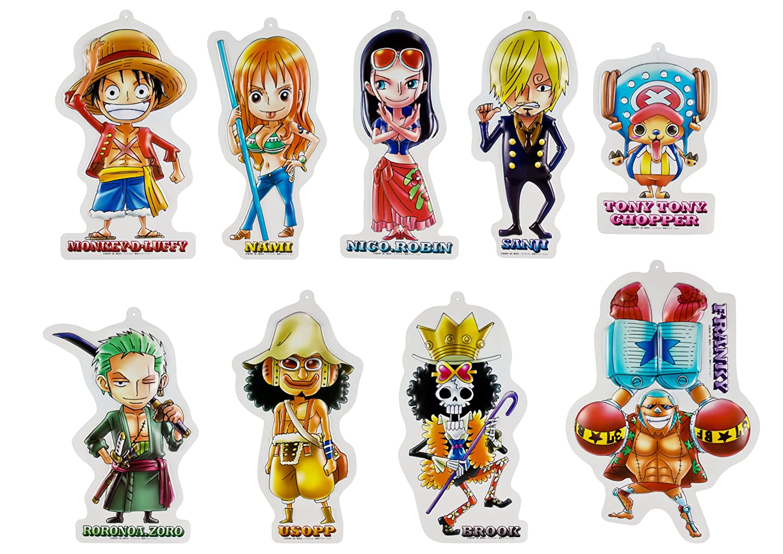 One Piece 9pcs Sen-ti-nel Wall Display