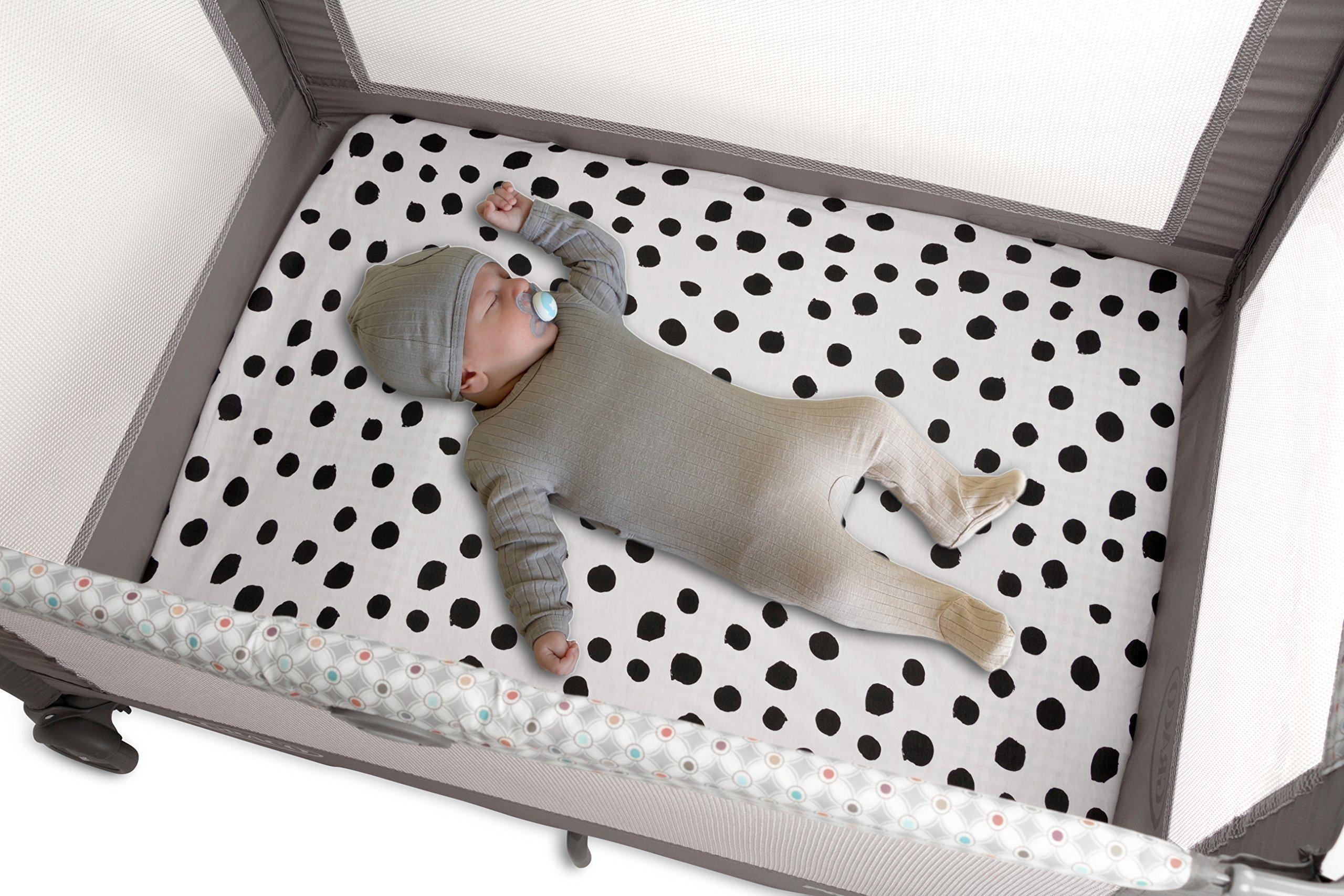 Pack n Play Playard Sheet | Portable Crib Sheet Set 2 Pack ...